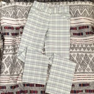 Nike Fit dry Plaid Golf Pants Size 0